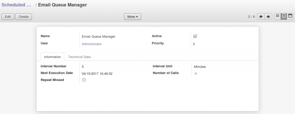 Odoo - Outgoing email configuration - Software, IT
