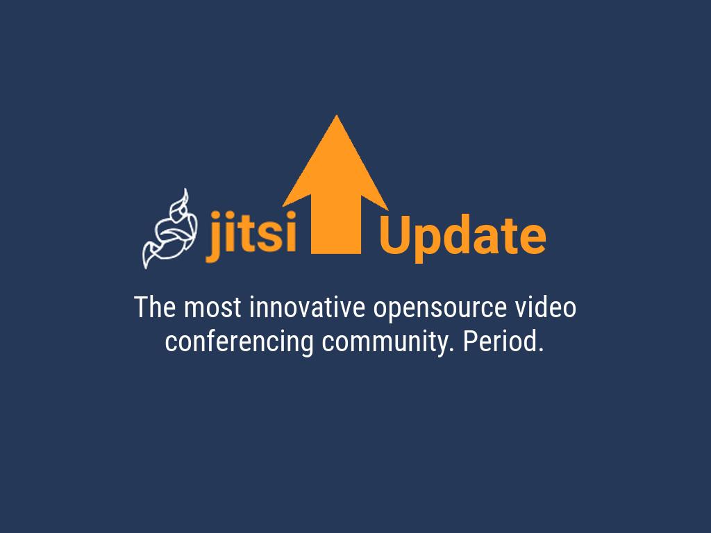 Update on Jitsi Stable - Software, IT & Networks Ltd